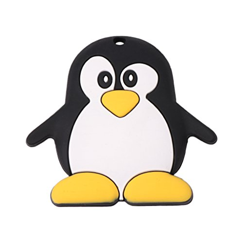 Baby Teether Silicone Cute Penguin Shape Teething Newborn Care Nursing Chew Toys