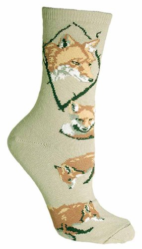 Wheel House Designs Women's Fox Socks made in Vermont