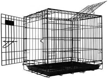 Pet Tek DPK86001 Dream Crate Professional Series 100 Dog Crate, 19 by 12 by 15-Inch, Black For Sale