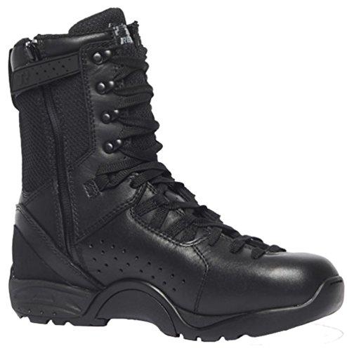 Belleville Alpha B9Z1 Hot Weather Tactical Side-Zip Boot Plain Toe, (Zip Assault Boot)