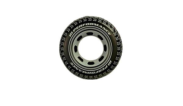 AMINSHAP Patrón de neumático de Natación Inflable Patrón Axila de los Hombres Anillo de Flotador de Engrosamiento Drift Diámetro 91cm Manija Fuerte Doble ...