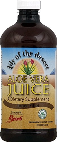 Aloe Vera Juice Lily Of The Desert 16 oz Liquid