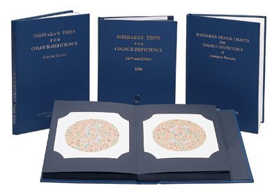 - 	 Ishihara® Test Chart Books, for Color Deficiency: 38 Plate - A Test Book Eye