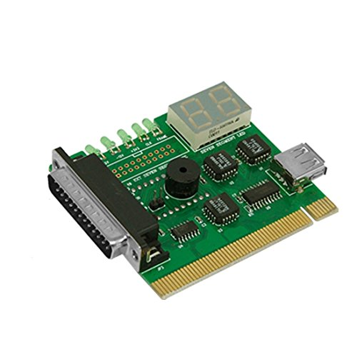Post Test Pci Diagnostics Card (Pc Motherboard USB & PCI Analyser Diagnostic Card Tester)