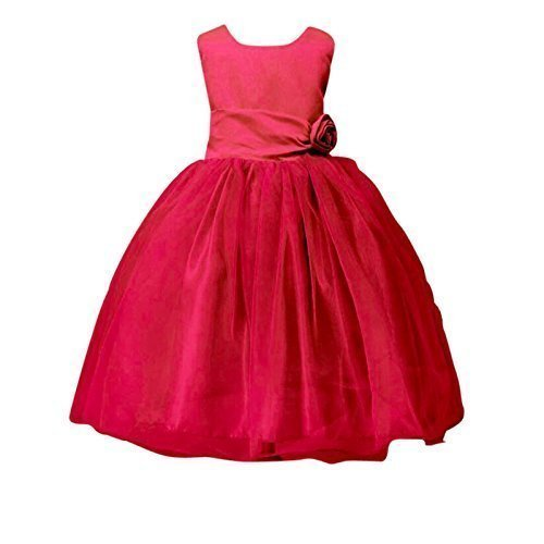 LIVE IT STYLE It ni̱a Rose Vestido Flor Princesa Sin Mangas Fiesta Formal Boda