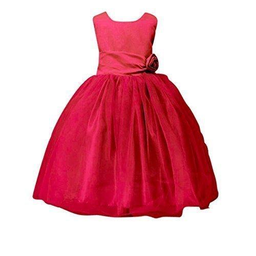 LIVE IT STYLE It ni̱a Rose Vestido Flor Princesa Sin Mangas Fiesta Formal Boda