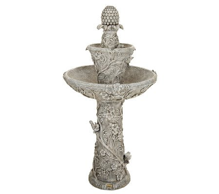 Flora Cordless Garden Water Fountain by Serena Garden Co.