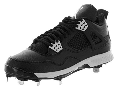 Nike Jordan Men's Jordan Iv Retro Metal Black/Tech Grey Baseball Cleat 9