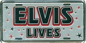 Elvis License Plate ()