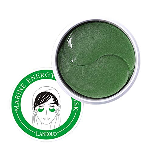 Lankouo Marine Energy Eye Mask, Eye Patch Lightening Dark Circles, Fine Lines, Firming Anti-wrinkle Eye Pattern Moisturizing