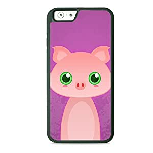 Case Fun Case Fun Pig by DevilleART TPU Rubber Back Case Cover for Apple iPhone 6 4.7 inch