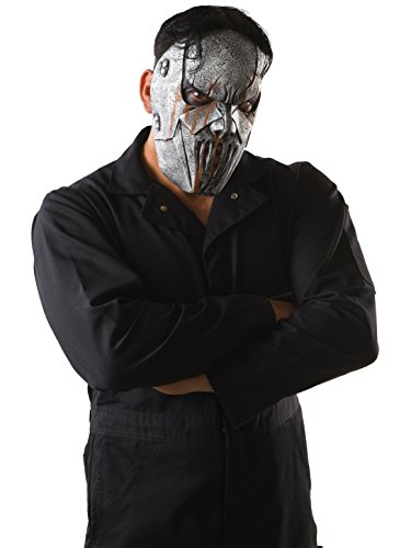 Rubie's Men's Slipknot Mick Face Mask, Multi, One Size
