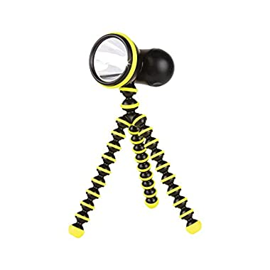 Joby Gorillatorch Adjustable and Flexible Tripod Flashlight, Yellow