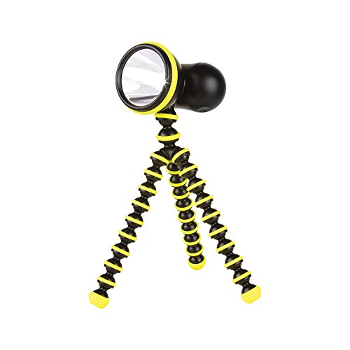 (Joby Gorillatorch Adjustable and Flexible Tripod Flashlight, Yellow)
