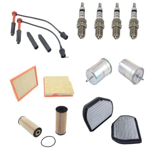 Complete Tune Up Kit for 1998 1999 2000 Mercedes-Benz C230 Kompressor