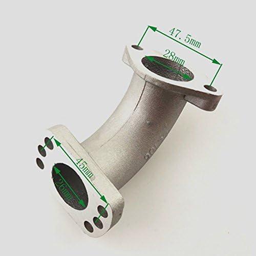 Intake Adapter Flange TC-Motor Carburetor Intake Manifold Pipe Gasket For 150cc 160cc 200cc 250cc Engine Pit Dirt Motor Bike CRF KLX TTR