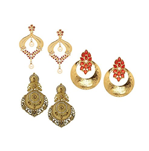 41a7610109a5c Amazon.com: Bindhani Pakistani Jewelry Indian Wedding Bridal ...