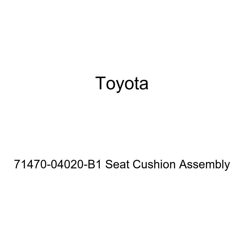 Toyota Genuine 71470-04020-B1 Seat Cushion Assembly