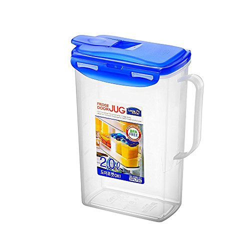 LOCK & LOCK Fridge Door Water Jug with Flip Top Lid 70.55-oz / 8.5-cup