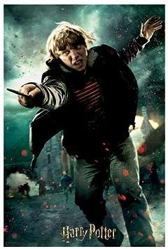 Prime 3D-Redstring-Puzzle lenticular Harry Potter Ron Weasley Batalla 300 Piezas (Efecto 3D)