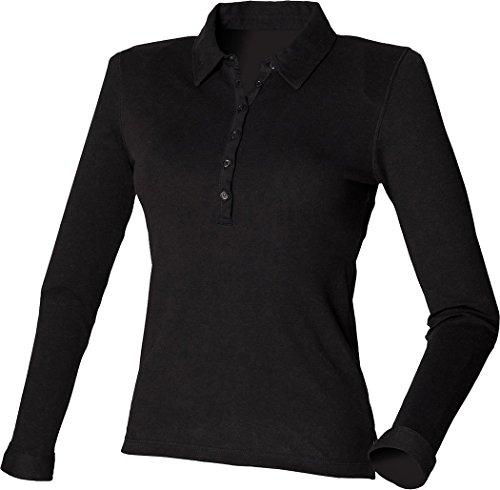 Skinni Fit - Camiseta de manga larga - para mujer blanco