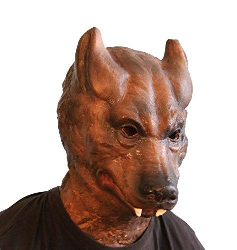 Big Bad Wolf Foam Latex Mask (Foam Latex Mask)