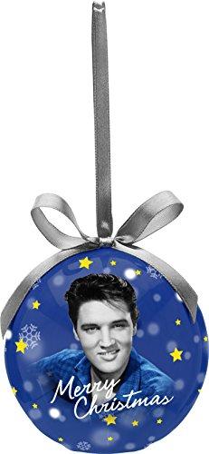 [Elvis Presley Decoupage Led Ornament] (Elvis Presley Decorations)
