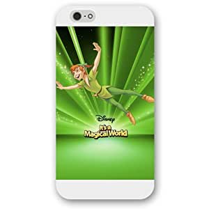 """Customized White Disney Cartoon Peter Pan iPhone 6 4.7 Case, Only fit iPhone 6 4.7"""""""