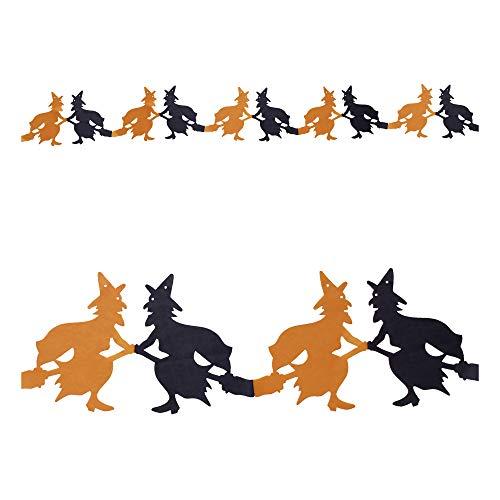 Deko Girlande Hexen Hexengirlande Halloween - Widmann ()
