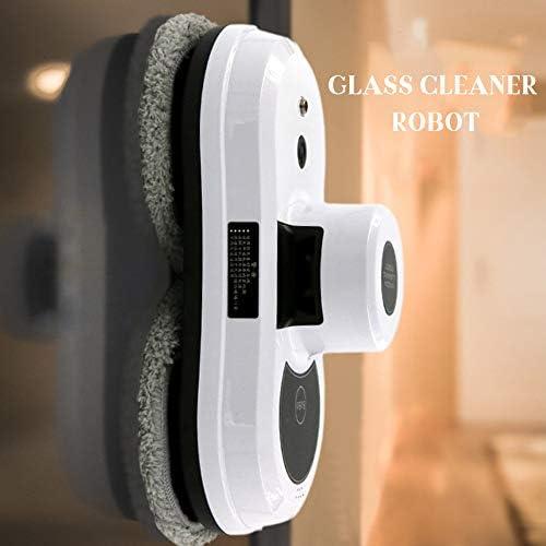 TBDLG Robot Nettoyeur de Vitres,Robot à Distance Infrarouge Automatique Anti-Chute Aspirateur de Nettoyage Verre Intelligent pour Vitres De Fenêtres à Télécommande