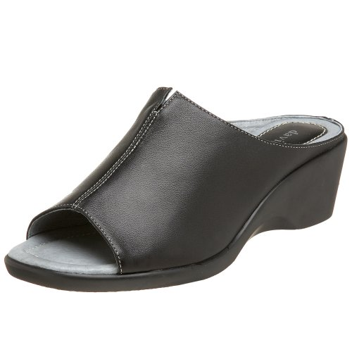 David Tate Women's Gloria Slide Sandal,Black Lamb,7 M US by David Tate (Image #1)'