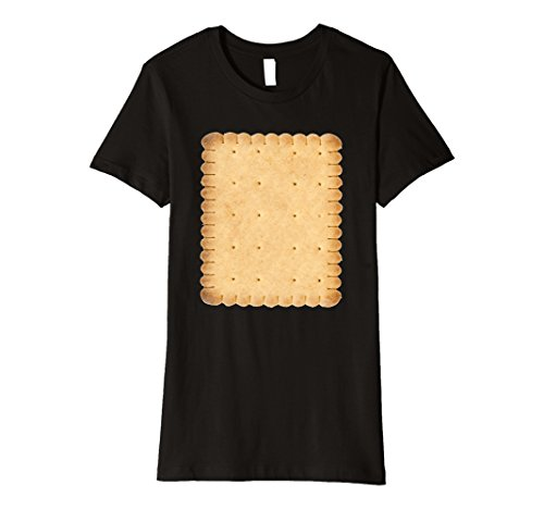[Womens Smores Cracker Matching Halloween Costume Shirt Medium Black] (S'more Costume)