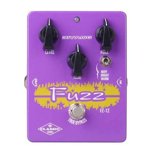 Biyang FZ-12 Guitar Bass Effect Pedal 3 Models True Bypass by Biyang
