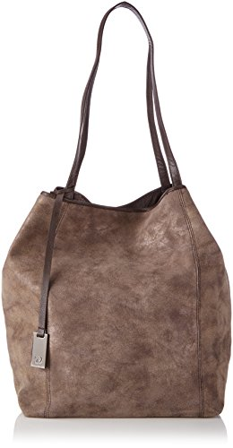 TOM TAILOR Denim MILA, Borsa shopper donna Marrone (Braun (braun 29))