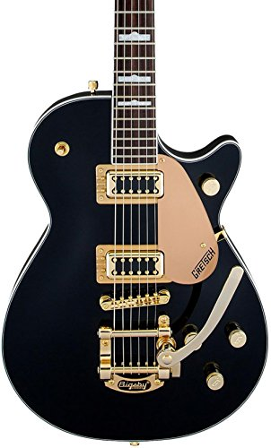Gretsch Limited Edition Electromatic Pro Jet Bigsby - Black w/Gold Hardware (Gretsch Solid Guitar)