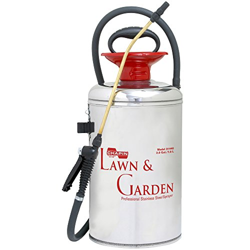 Surespray 2 Gallon Poly Sprayer (Chapin 31440 2-Gallon Lawn & Garden Series Stainless Steel Sprayer For Fertilizer, Herbicides and Pesticides)