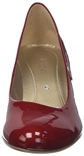 Gabor Damen Basic Pumps Rot (Cherry)