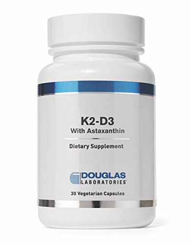 Douglas Laboratories - K2-D3 With Astaxanthin - Provides Bone, Neuromuscular and Immune Support - 30 Capsules