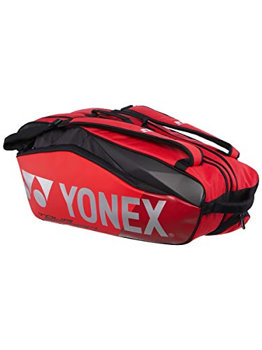 Yonex 9826EX PRO Tour Edition 6R Flame RED Racket Bag ()