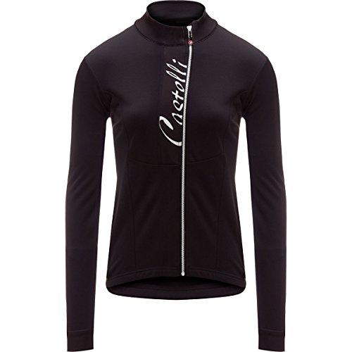 Castelli Sorriso Full-Zip Jersey - Long-Sleeve - Women's Light Black/Red, ()