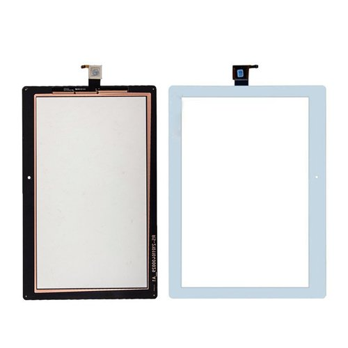 Touch Screen LCD Display Digitizer for Lenovo (White) - 3