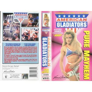 American Gladiators  Vhs