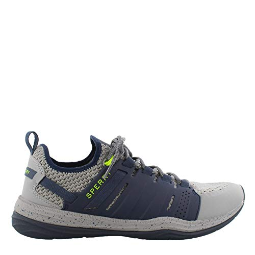 - SPERRY Men's, H2O Mainstay Lace up Sneakers Gray/Navy 10.5 M