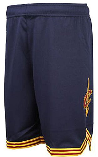 (Game Time Youth Cleveland Cavaliers Navy Replica Basketball Shorts By Outerstuff (S=8))
