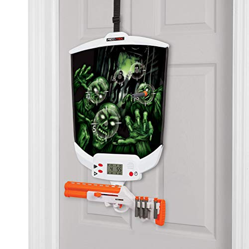 (Rec-Tek Over The Door Zombie Hunting Game with LCD Scoring for Kids - Features Easy Assembly and Easily Adjustable Height - Complete with All Accessories )