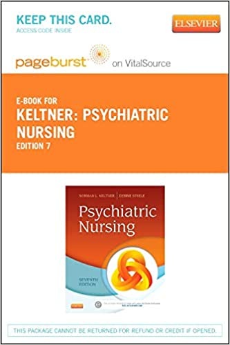 Psychiatric Nursing Elsevier EBook On VitalSource Retail