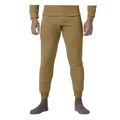 Rothco ECWCS Poly Bottoms, Coyote Brown, Medium (Snowmobiling Shovel)
