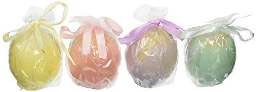 Biedermann & Sons 12 Count Pastel Cracked Egg Candles