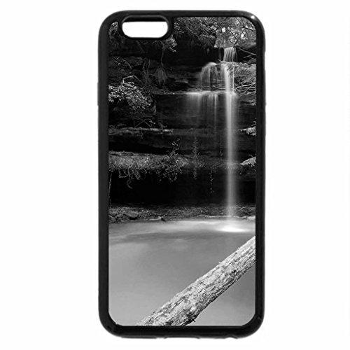 iPhone 6S Plus Case, iPhone 6 Plus Case (Black & White) - Shangri-La Falls, Winston County