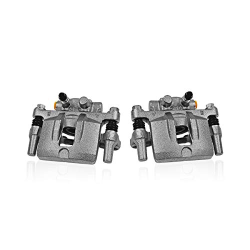 - Callahan CCK04471 [2] REAR Premium Semi-Loaded Original Brake Caliper Pair + Hardware [ Toyota MR2 Spyder ]